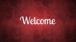 Snowing Red welcome 16x9 716a08c3 681e 4abc 9585 c2fdc03aa0eb PowerPoint image