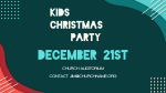Kids Christmas Party  PowerPoint image 3