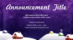 Join Us For Caroling  PowerPoint image 2