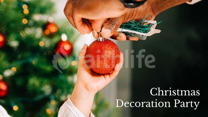 Christmas Decoration Party large preview