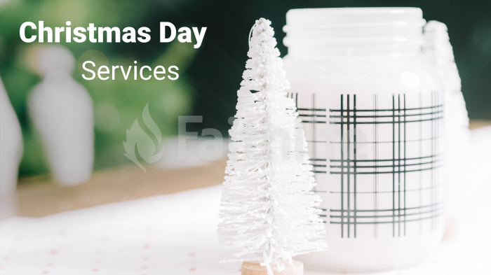 Christmas Day Services large preview