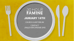 30 Hour Famine  PowerPoint image 3